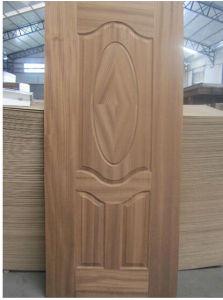 HDF Door Skin with Veneer Melamine Paper pictures & photos