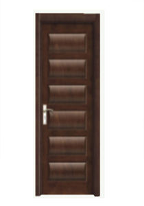 Hot Sale High Quality Solid Wooden Door with Fashion Design (SW-834) pictures & photos