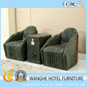 Modern Hotel Furniture Leather Sofa Chair for Living Room pictures & photos