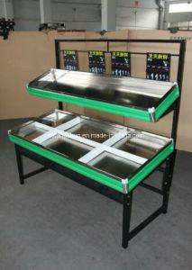 Hot Sales Supermarket Shelf Display Stand for Fruits and Vegetable with Low Price High Quality pictures & photos