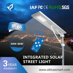 Bluesmart Outdoor Fence LED Solar Street Lighting for Pathway pictures & photos