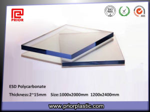 1000X2000mm ESD Polycarbonate Sheet Clear Color pictures & photos