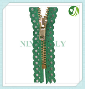 Automatic Lock Metal Zipper 3# 4# 5# #7 8# pictures & photos