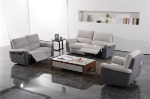Modern Living Room Furniture Leather Sofa Set (433) pictures & photos