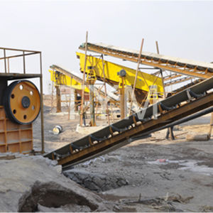High Efficient Recycling Stone Crusher Small Conveyor Belt Motor