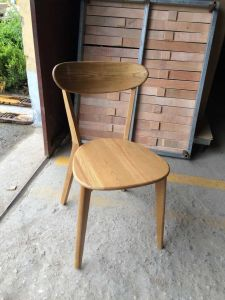 Modern Chair/Restaurant Chair/Foshan Hotel Chair/Solid Wood Frame Chair/Dining Chair (NCHC-027) pictures & photos
