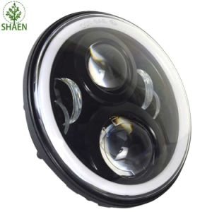 Auto Parts 7 Inch LED Headlight for Jeep with DRL pictures & photos