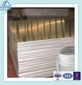 Mill Finished 1100 Aluminum Plain Sheet/Plate with Blue PE Film pictures & photos