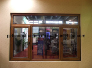 Double Glazing Aluminum Casement Window with As2208 (TS-363) pictures & photos