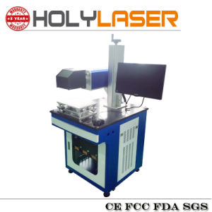 Special Nonmetal CO2 Galvo Type Laser Marking Machine pictures & photos