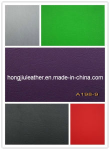 High Quality Car Seat Rexine Leather (198#) pictures & photos