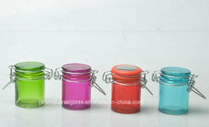 100ml Square Glass Jar for Spice, Sealing Glass Jar pictures & photos