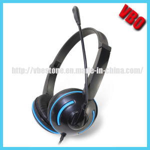PC Stereo Headset, Computer Headphone (VB-9319M) pictures & photos