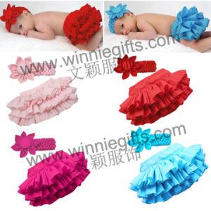 New Chiffon Ruffle Bum Baby Bloomers