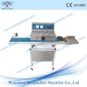 Stand Type Continuous Aluminum Foil Lid Sealing Machine pictures & photos