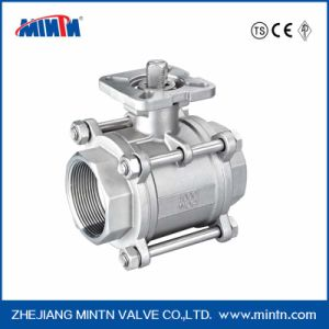 Mintn Valve Stainless Steel Pneumatic Control Actuator Ball Valve for Water Treatment pictures & photos