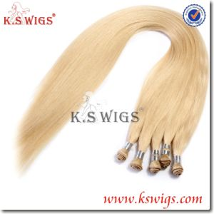 100% Chinese Remy Hair Handtie Hair Extension pictures & photos
