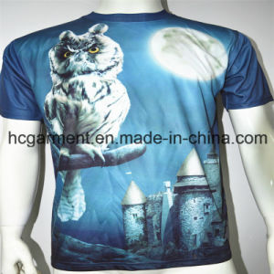 Man′s 3D /Sublimation Printed Round Neck Short Sleeve T- Shirt pictures & photos