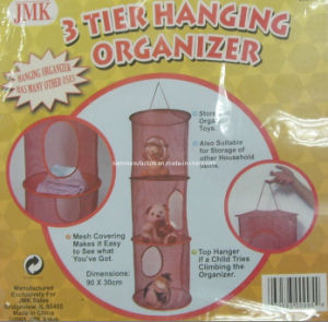 Collapsible 3 Tier Hanging Organizer pictures & photos