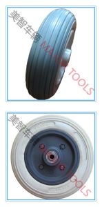 5 Inch Grey PU Foam Electric Wheelchair Wheel pictures & photos