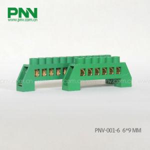 High Quality Brass Earthing Terminal Block Pnv-001-6 6*9mm