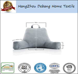 Hot Selling Cheap Lounger Bed Rest Reading Pillows pictures & photos