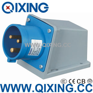 Wall Mounted Plug with International Standard (QX-344) pictures & photos