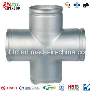 Pipe Fittings, Weld Connection, Sanitary Stainless Steel Tee pictures & photos