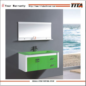 Glass Bathroom Cabinet Th21510 pictures & photos