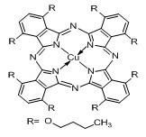 Copper (II) 1, 4, 8, 11, 15, 18, 22, 25-Octabutoxy-29h, 31h-Phthalocyanine