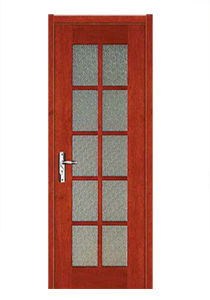 Hot Sale High Quality Wooden Door with Fashion Design (SW-864) pictures & photos
