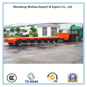 Manufacturer 7 Axles Low Bed Semi Trailer with Competitive Price pictures & photos
