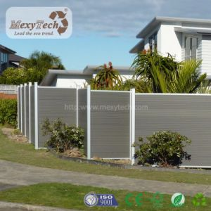 European Style Domestic Wood Plastic Composite WPC Fence pictures & photos