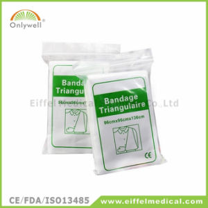 Non-Woven Medical First Aid Emergency Triangular Bandage pictures & photos