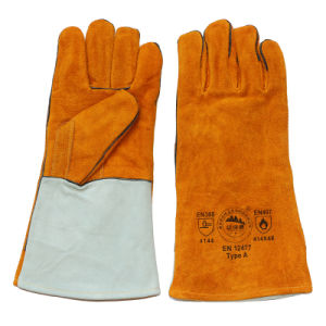 14 Inch Kevlar Sewing Welding Safety Gloves pictures & photos