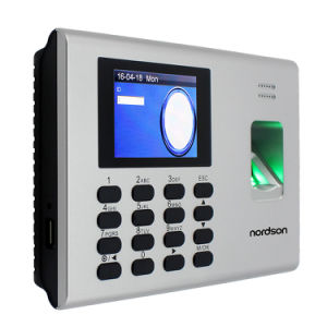 TCP/IP SSR Self-Service Fingerprint ID Time Attendance Access Control with USB pictures & photos