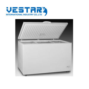 Stainless Steel Doors Slim Showcase Cooler Energy Saving Refrigerator pictures & photos