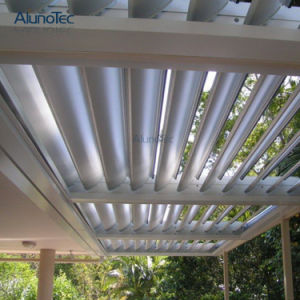 Decoration Sunproof Garden Shutter Louver Blind Roof System pictures & photos