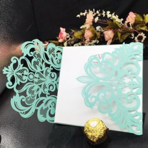 New Design Paper Greeting Cards Wedding Invitation Card Printing pictures & photos