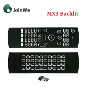Backlit Wireless Keyboard and Air Mouse Mx3 Backlit pictures & photos