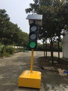 Good Quality Solar Powered LED Flashing Traffic Warning Light pictures & photos