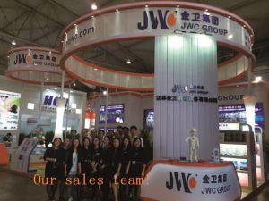 Semi-Servo Double Routes Output Disposable Breast Pad Machine (JWC-RD-800) pictures & photos