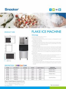 380V Big 1500kgs Flake Ice Maker for Commercial Use pictures & photos