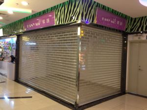 Polycarbonate Roll up Shutter Door/Link/Slat (PC2) pictures & photos