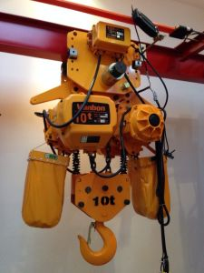 1 Ton Electric Hoist with Motorized Trolley - Made in Shanghai pictures & photos