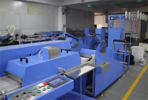Single Color Apparel Labels Automatic Screen Printing Machine for Sale pictures & photos