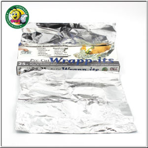 Top Grade and Embossed Aluminum Foil Tissue Paper pictures & photos