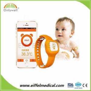 Digital Bluetooth Wireless Smart Baby Watch Thermometer pictures & photos