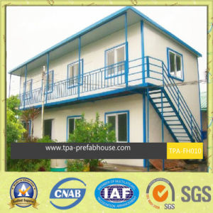 Steel Sandwich Panel Prefabricated House pictures & photos