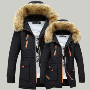 Top Quality Warm Waterproof Long Sleeves Men Down Jacket pictures & photos